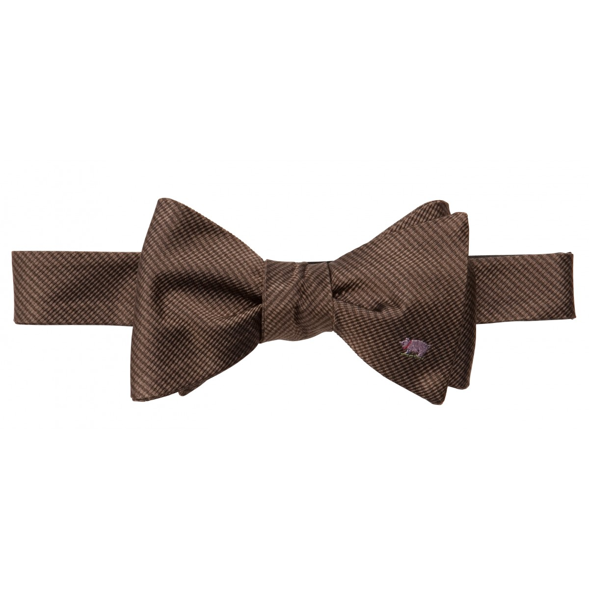 Pig Bow: Brown
